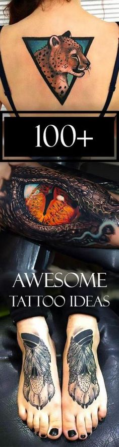 Awesome tattoos are the result of a process that can take years, but the end result is always worth it....