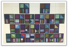 2nd Grade Masterpieces: Art with Fractions
