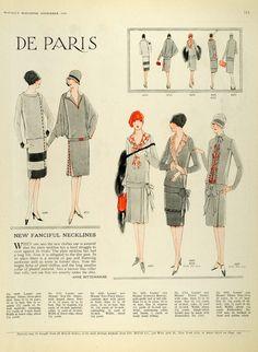 1926 Print Women Children Clothing Flapper Fashion McCalls Dressmaking Patterns | eBay