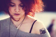 tatuagens de camera fotografica tumblr - Pesquisa Google