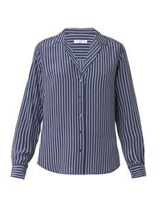 Adalyn striped silk shirt, Equipment, 2.455 kr.