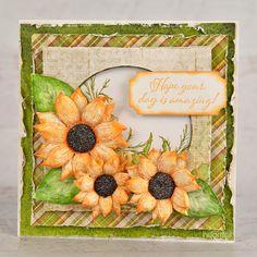 Heartfelt Creations - Amazing Sunflowers