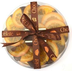 Luxury Orange Slices Dark Belgian Chocolate by Robins & Sons Chocolatiers on Gourmly