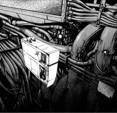 Frame from BLAME! Manga after reading this manga I was left amazed. this was a massive structure. Over 3000 plus stories (in height), and long enough for a 70 kilometer length to be destroyed  with no major collapse. huge
