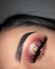 Eyeshadow Looks Idée Maquillage 2018 / 2019 : a Make-. - Eyeshadow Looks Idée Maquillage 2018 / 2019 : a Make-up-Idee - Glam Makeup, Skin Makeup, Makeup Inspo, Eyeshadow Makeup, Beauty Makeup, Eyeliner, Eyeshadows, Eyebrows, Eyeshadow Ideas