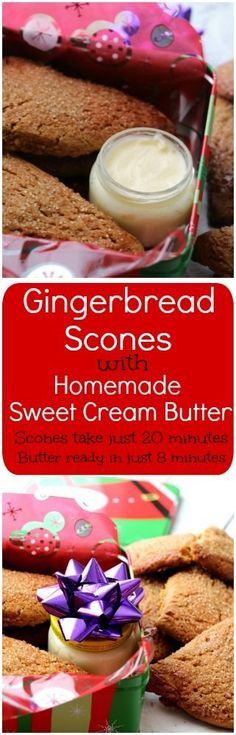 Gingerbread Scones have an intense ginger and molasses flavor, a crunchy sugar coated top – just like the bakery.
