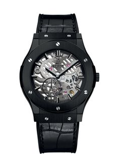 Classic Fusion Classico Ultra-Thin All Black 45mm Complicated watch from Hublot