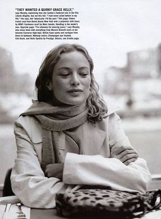 "Allure June 1999. ""Carolyn in the City"". Photographer: Elfie Semotan. Model: Carolyn Murphy."