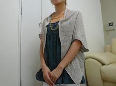 Ravelry: chibitora's Sakasama Jacket// habu