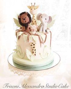Animal cakes for children sweet animal cake . - Animal cakes for children sweet animal cake … - Zoo Animal Cakes, Animal Cakes For Kids, Animal Cake Pops, Animal Birthday Cakes, Baby Boy Birthday Cake, Birthday Cakes For Teens, First Birthday Cakes, Kids Animals, Teen Birthday