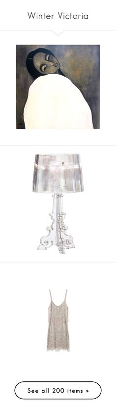 """Winter Victoria"" by eivor ❤ liked on Polyvore featuring home, lighting, clear, crystal lighting, pleated lamp shade, kartell lighting, dimmer lamp, crystal light shade, dresses and shiny dress"
