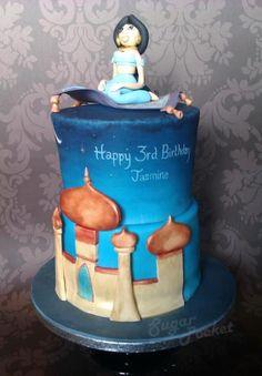 Jasmine Disney Cake