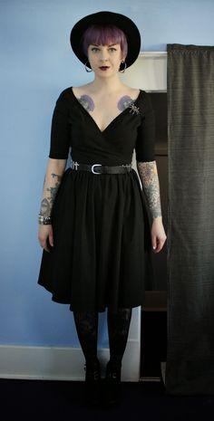 Coffin Kitsch: Feeling a Little Lydia Deetz #goth #gothblogger #deathrock #lucky13