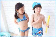 Pre order ชุดว่ายน้ำ โดเรมอน ชาย หญิง มีไซค์ s m l xl - กิ๊ฟช้อป เคสไอโฟน โมเดล ของสะสม ของเล่นเด็ก ของเล่น : Inspired by LnwShop.com