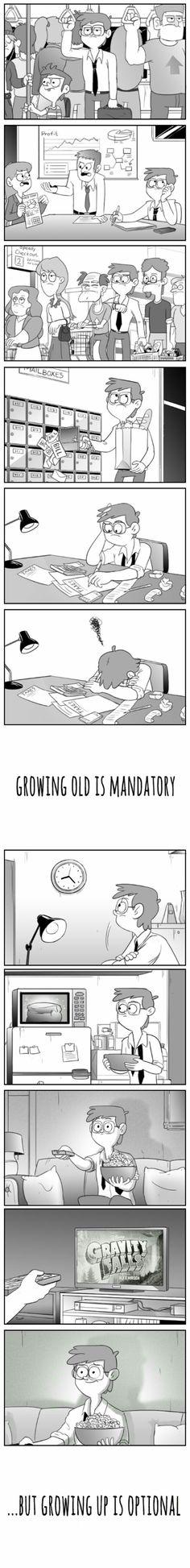 De una largo tiempo de trabajo ves tú caricatura de favorita