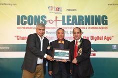 #eAgeEdusolutions Awarded 'Innovative #Edutech Company' at #IconsofLearning 2016 #BERGSingapore