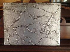DIY: Cool Art with Aluminum Foil, Glue & ShoePolish!