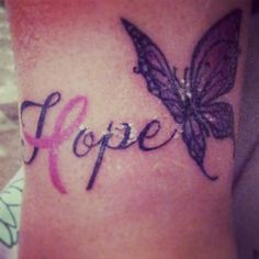 Hope tattoo #lupus #awareness