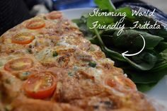 Slimming World Friendly Frittata - Syn free and packed with speed foods! (Just use your HEXA for the cheese!)