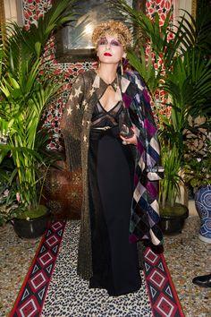 Catherine Baba @ Roberto Cavalli WRTW SS2017 Fashion Show in Milan