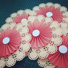 1000 images about rosette ideas on pinterest paper for Pre punched paper for crafts