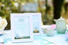 Tuintafeldecoratie - Part #4. Menukadertjes #garden #party #BBQ #tuinfeest #tabledeco #summer #menu #teaparty #blog #Beaublue