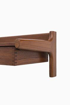 Børge Mogensen bedside tables in teak by Søborg at Studio Schalling #teak #retro