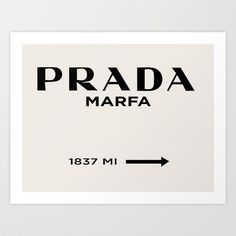 Prada Marfa II Art Print by Stephanie DuBois - $19.00