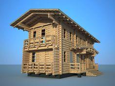 Архитектура дома имеет строгий классический образ. Лаконичная планировка обеспечивает комфортное проживание. Предназначен для семьи из 4-5 человек. При желании может быть оборудован подвалом. Multi Story Building, Cabin, House Styles, Home Decor, Decoration Home, Room Decor, Cabins, Cottage, Home Interior Design