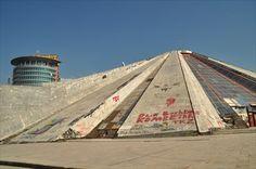 Pyramid, Tirana, Albania - Pyramids on Waymarking.com