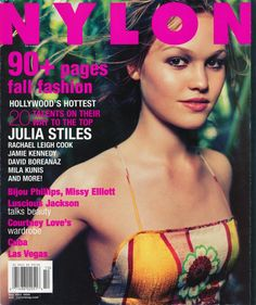 '90s queen Julia Stiles talks Hollywood double standards in our October 1999 cover story