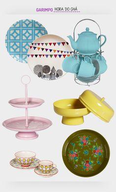 Hora do Chá! Veja: http://casadevalentina.com.br/blog/detalhes/hora-do-cha-2910 #details #interior #design #decoracao #detalhes #decor #home #casa #design #idea #ideia #charm #charme #casadevalentina #tableware #mesa #online #products #produtos