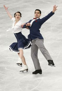 Italy's Anna Cappellini and Luca Lanotte compete in the Ice Dance Short Dance at the European Figure Skating Championships in Budapest, Hungary, Wednesday, Jan. 15, 2014. (AP Photo/Darko Bandic)