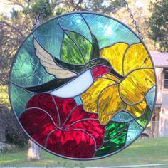 Afbeeldingsresultaat voor stained glass flowers