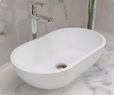 Badeloft WB-02 Stone Resin Countertop Sink