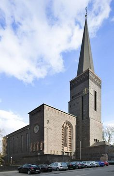 Herz-Jesu Church (r.c.), Bottrop, NRW, Germany I built in 1927 by Joseph Franke