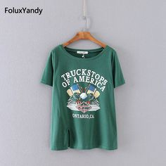 >> Click to Buy << GreenTops Tees Girl Pullovers Plus Size 3 XL Casual Loose Short Sleeve Summer Women T-shirt KK3790 #Affiliate