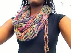 artfully simple crochet Infinity scarf Tamara Kelly