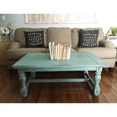 Chalk Paint Coffee Table Makeover Paint coffee tables Coffee