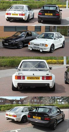 Escort and Rs Cosworth Ford Rs, Car Ford, Ford Capri, Retro Cars, Vintage Cars, Ford Specials, Ford Motorsport, Ford Sierra, Ford Classic Cars