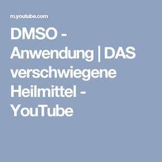DMSO - Anwendung   DAS verschwiegene Heilmittel - YouTube