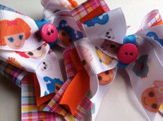 Sugar Spice and Everything Nice by Jenna Ford on Etsy featuring gemberlelie!  #ladybugs #pink #polkadot