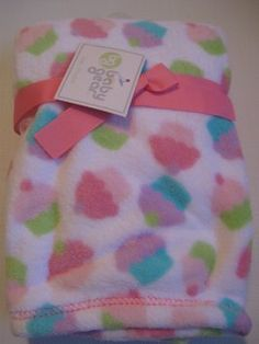 Amazon.com: Baby Gear Multi-colored Cupcake Blanket: Baby