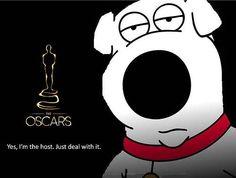 Seth MacFarlane, Brian Griffin, Family Guy, Oscars 2013