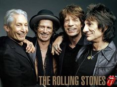 Inspiration Rolling Stones. Have seen them at least 4 times... I don't know how they do it.
