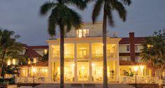 Old school glamour. Gasparilla Inn, Boca Grande, FL