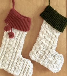 Andy's Stocking- Free Pattern A Purpose and A Stitch Crochet Christmas Stocking Pattern, Crochet Stocking, Holiday Crochet, One Skein Crochet, Crochet Socks, Free Crochet, Crocheted Toys, Crochet Things, Quick Crochet Patterns