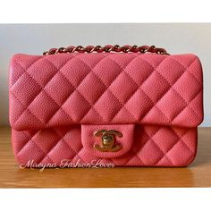 """bae5cd64aabb80 Luxury Personal Shopper 🦋 on Instagram: """"Final Price Reduction ✨Available  from a client✨ ▫ Brand New w/ Tags - 2018 Classic mini rectangle in pink ..."""