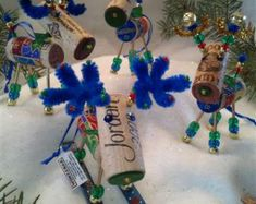 WINE CHRISTMAS ORNAMENT Winedeer ™ Very Merry by WineToTheNines