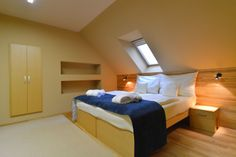 Attic suite - Bedroom